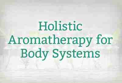 Holistic Aromatherapy for Body Systems