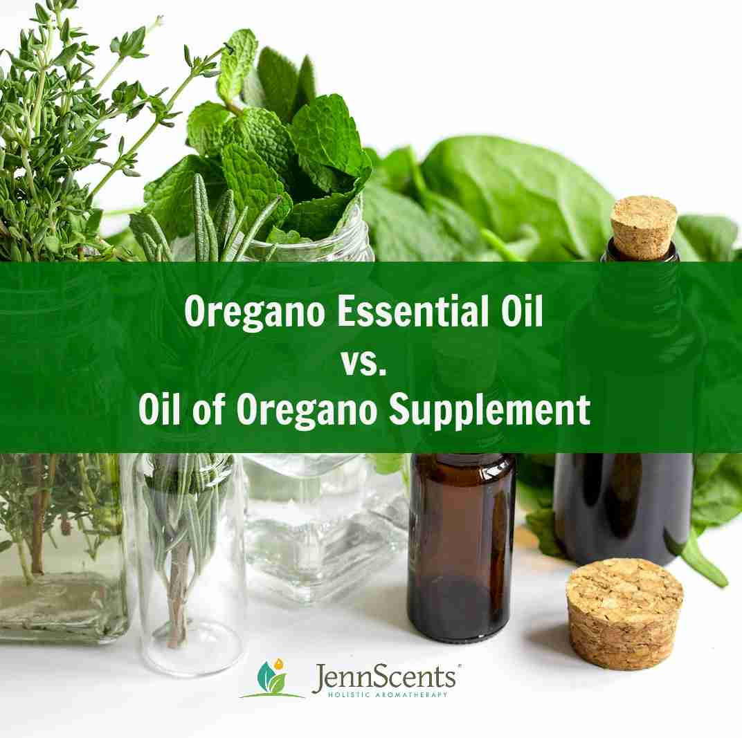 Oregano essential oil vs. oil of oregano supplement