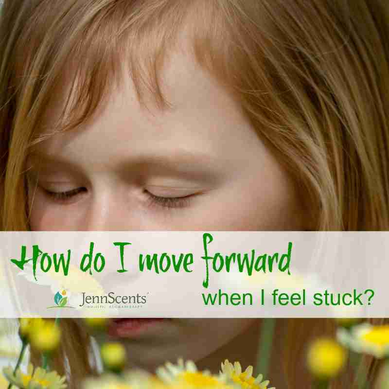 How do I move forward when I feel stuck?