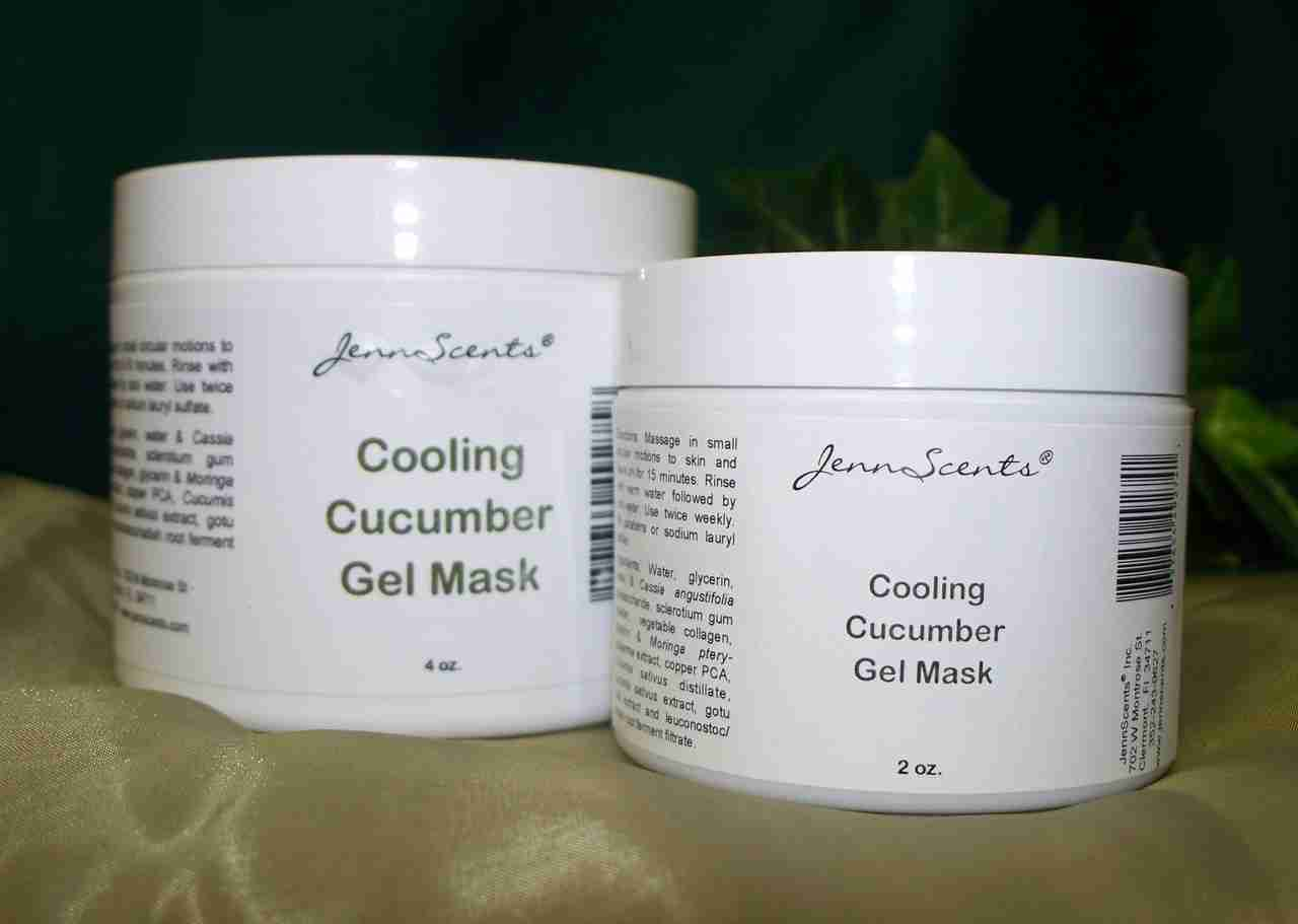 Cooling Cucumber Gel Mask
