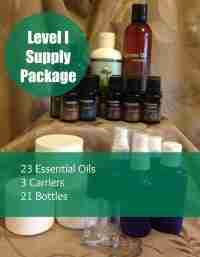 Level I Aromatherapy Supply Package