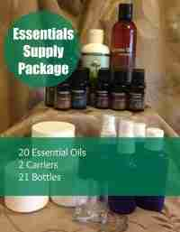 Aromatherapy Essentials Supply Package