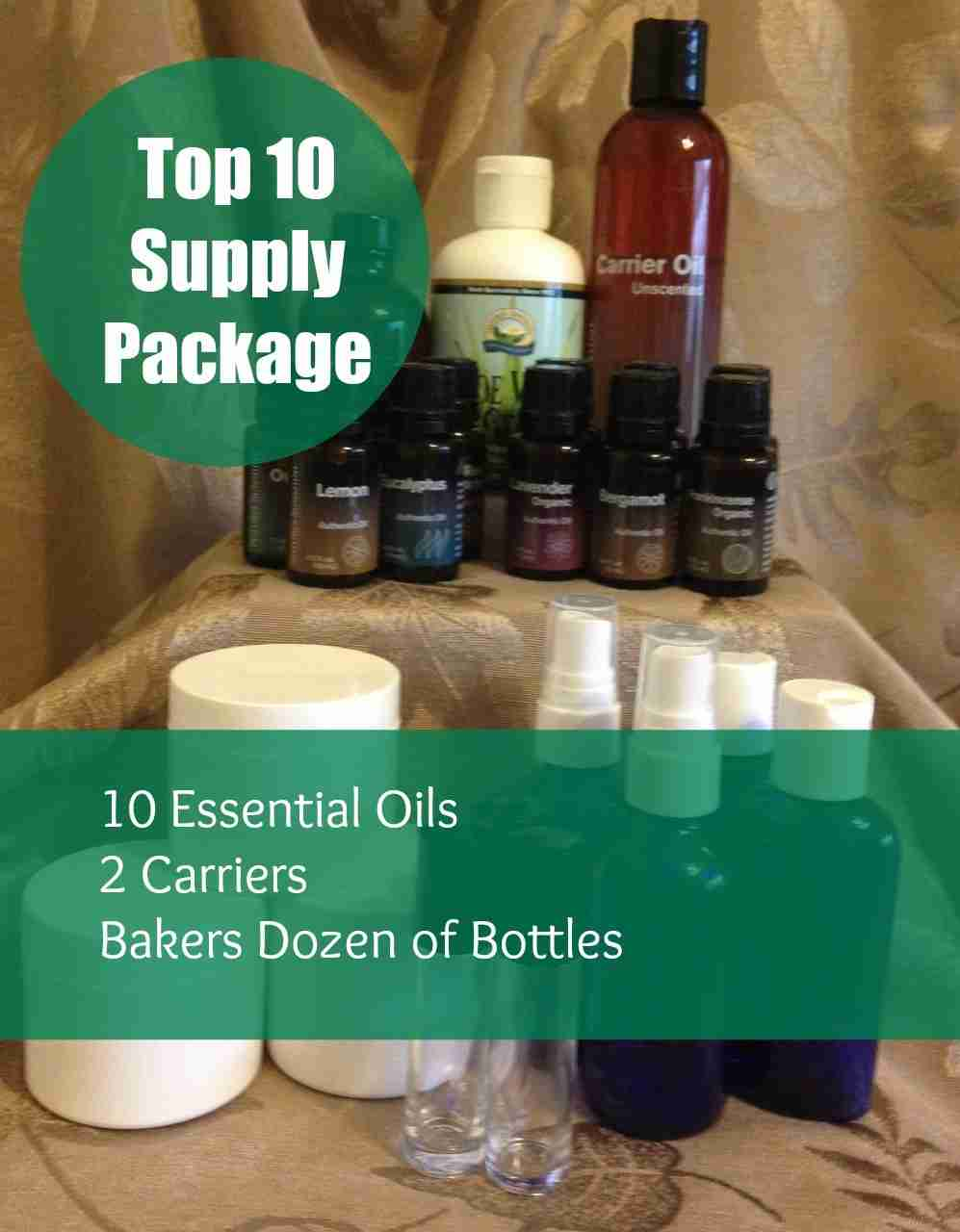 Aromatherapy Top 10 Supply Package