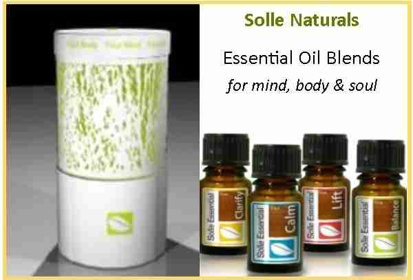Essential Oil Kit & Diffuser Set