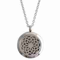 Silver Necklace Diffuser Locket
