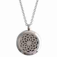 Silver Necklace Diffuser Locket