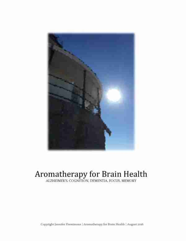 Aromatherapy for Brain Health e-Book