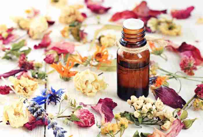Herbal infused essential oils