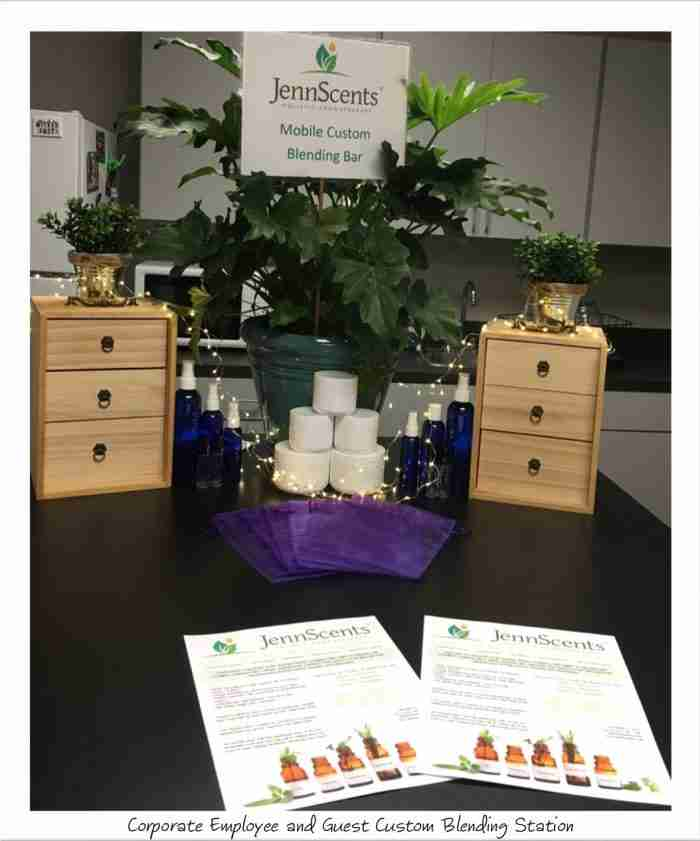 aromatherapy corporate event