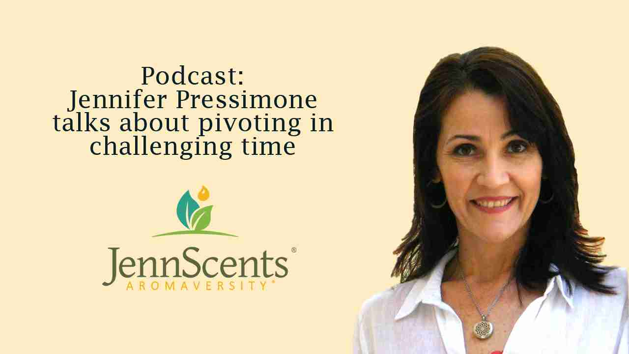 Podcast: Jennifer Pressimone talks about pivoting in challenging time